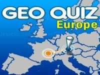Jeu mobile Geo quiz - europe