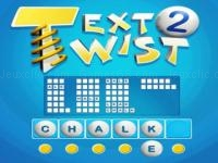 Jeu mobile Text twist 2