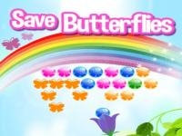 Jeu mobile Save butterflies