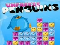 Jeu mobile Unfreeze penguins