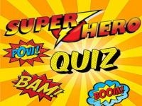 Jeu mobile Superhero quiz