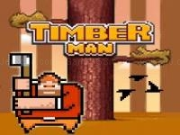 Jeu mobile Timberman