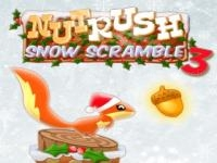 Jeu mobile Nut rush 3 - snow scramble