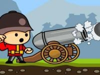 Jeu mobile Cannons and soldiers