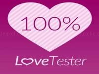 Jeu mobile Love tester