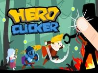 Jeu mobile Hero clicker