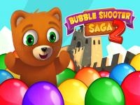Jeu mobile Bubble shooter saga 2 - team battle