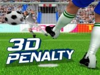 Jeu mobile 3d penalty