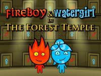 Jeu mobile Fireboy and watergirl 1 forest temple