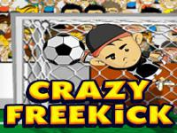 Jeu mobile Crazy freekick game