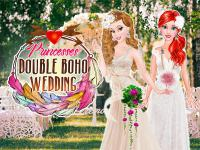 Jeu mobile Princesses double boho wedding