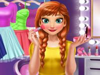 Jeu mobile Ice princess makeup time