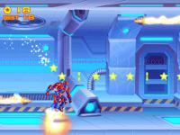 Jeu mobile Iron suit: assemble and flight