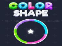 Jeu mobile Color shape