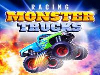 Jeu mobile Racing monster trucks