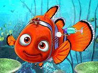 Jeu mobile Ariel save nemo