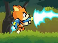 Jeu mobile Hero in super action adventure