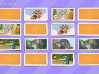 Jeu mobile Scratch & match animal