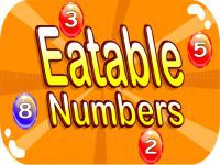 Jeu mobile Eg eatable numbers