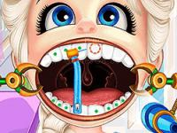 Dentist salon party: braces games