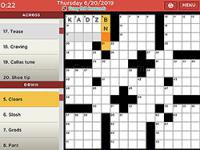 Jeu mobile Penny dell crosswords