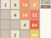 Jeu mobile 2048 math