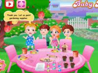 Jeu mobile Baby hazel garden party