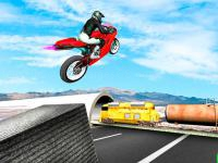 Jeu mobile Highway traffic bike stunts