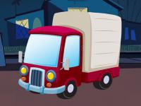 Jeu mobile Fun truck jigsaw