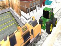 Jeu mobile Tractor towing train