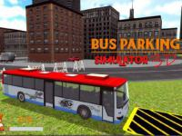 Jeu mobile Bus parking simulator 3d