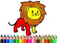 Jeu mobile Bts lion coloring book