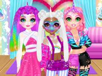 Jeu mobile Miss charming unicorn hairstyle