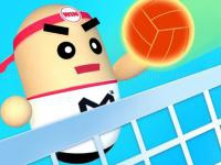 Jeu mobile 3d amazing volleyball