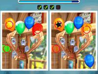 Jeu mobile Looney tunes winter spot the difference