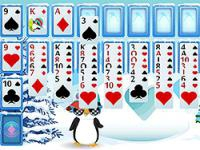 Jeu mobile Penguin solitaire