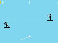 Jeu mobile The spear stickman