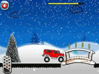 Jeu mobile Winter monster trucks challenge