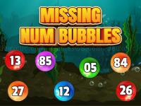 Jeu mobile Missing num bubbles