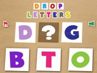 Jeu mobile Drop letters