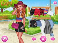 Jeu mobile Design my spring look