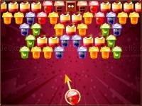 Jeu mobile Bubble shooter puddings
