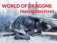 Jeu mobile World of dragons hidden stars